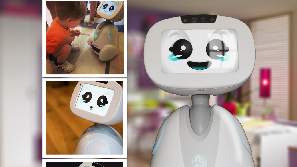 Cute robots make us in love
