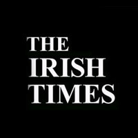 Irish times post with Buddy the robot