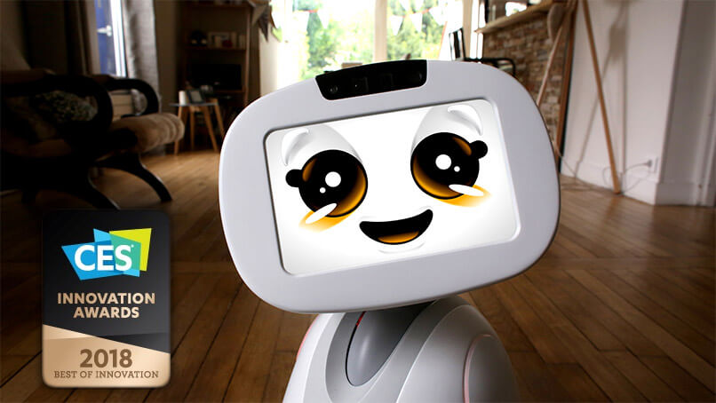 CES 2018 Award for Buddy the robot