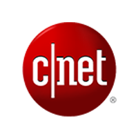 Logo de CNET in CES 2018 with Buddy le robot